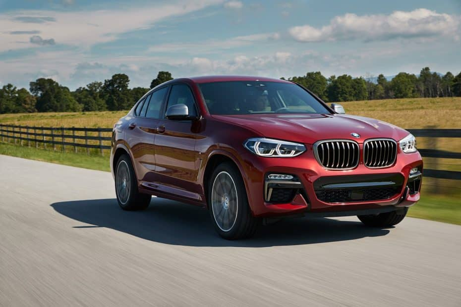 El BMW X4 2018 luce palmito en esta completa galería de imágenes: Descubre todos sus secretos
