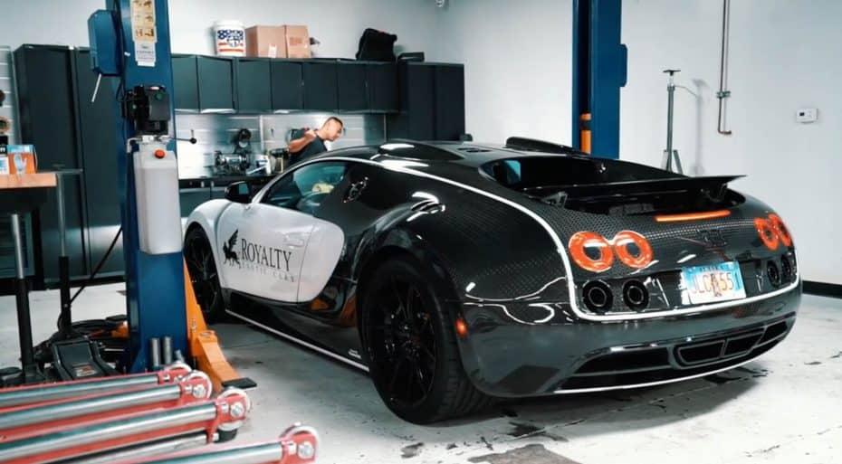¿Sabes por qué cambiar el aceite de un Bugatti Veyron cuesta 20.000 euros? En este vídeo te lo explican…