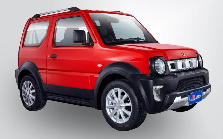 Nuevo Dayang Chok G, el clon chino eléctrico del Suzuki Jimny