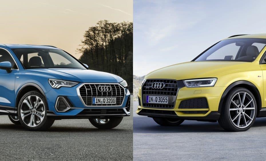 Comparación visual: Juzga tú mismo cuánto ha cambiado el Audi Q3 2018
