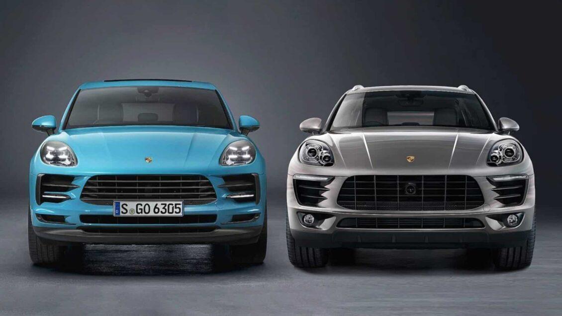 Comparación visual: Juzga tú mismo cuánto ha cambiado el Porsche Macan 2018