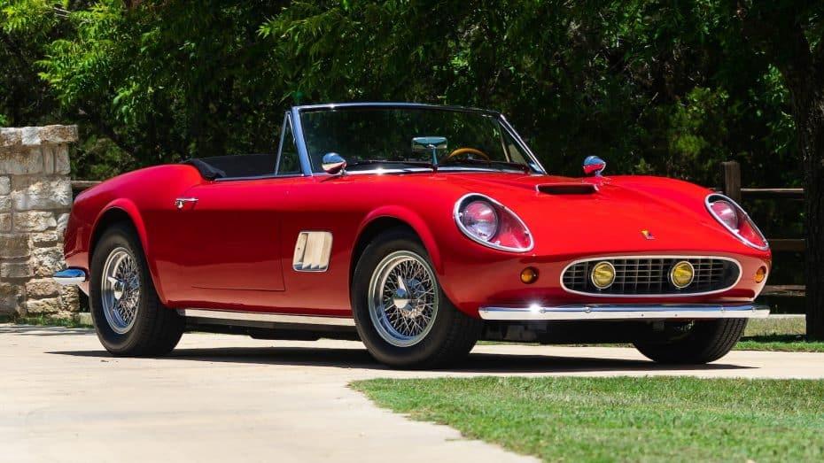 A subasta el mítico Ferrari 250 GT de 'Todo en un día', pero ojo porque tiene truco…