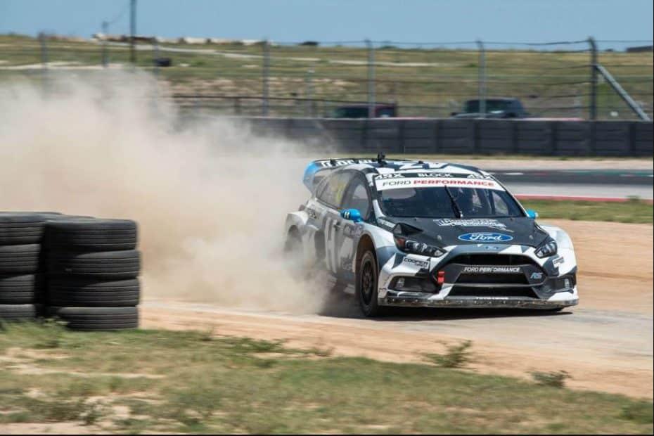 Ken Block ya tiene listo su nuevo Ford Focus RS RX para esta temporada de rallycross