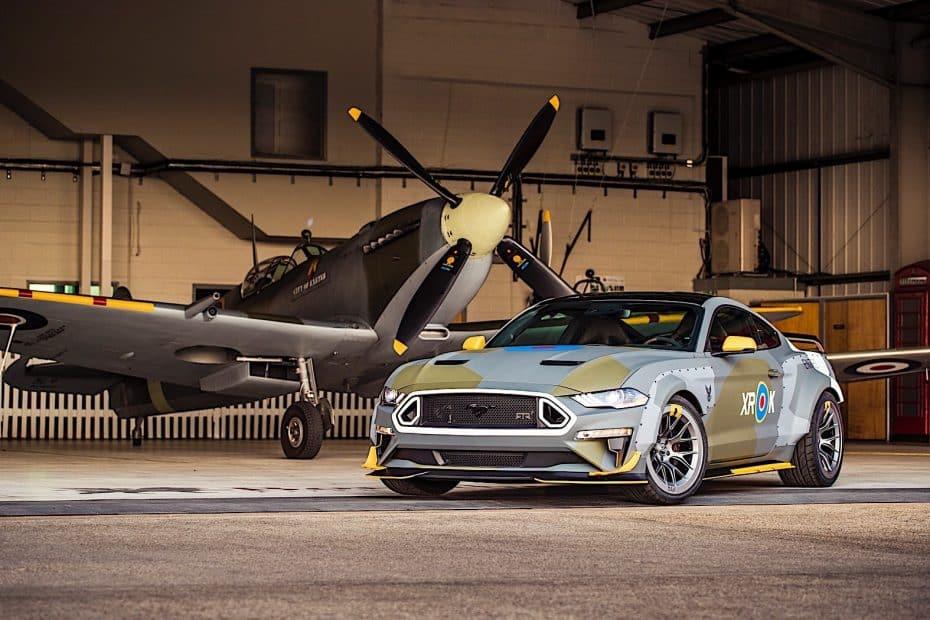 Ford Mustang GT Eagle Squadron: 700 CV homenajean a los héroes del cielo