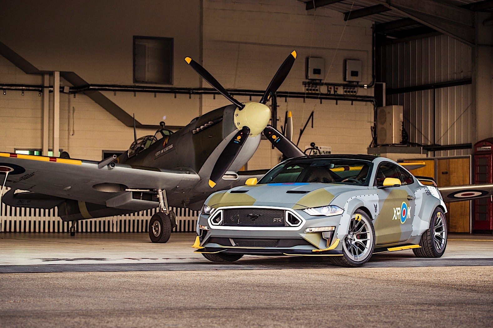Ford Mustang Gt Eagle Squadron Edici 243 N Especial