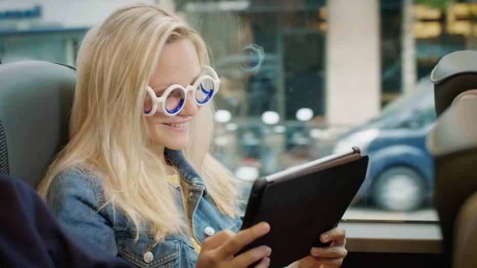 ¿Te mareas cuando vas en transporte? Quizás deberías probar las nuevas gafas SEETROËN