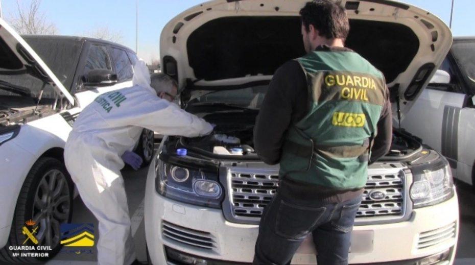 La Guardia Civil acaba de recuperar 342 coches robados en España, pero la cifra total asciende a 70.000