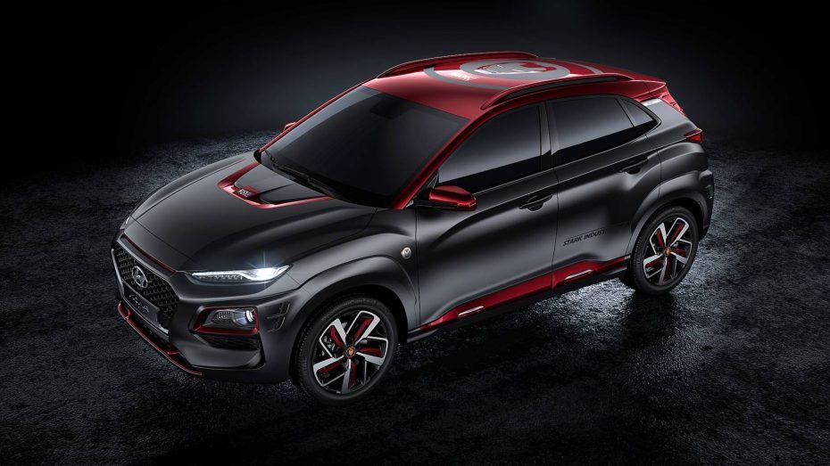El Hyundai Kona Iron Man Edition es el nuevo coche que todo superhéroe desearía tener
