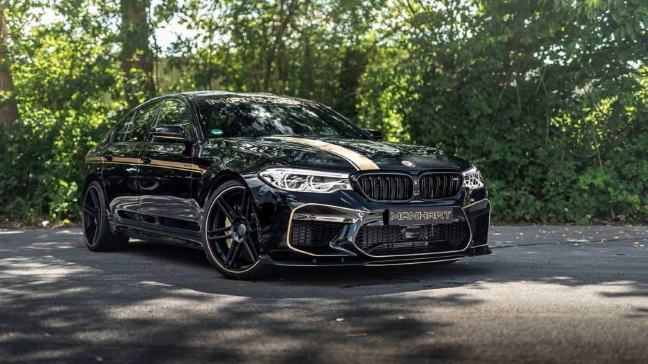 El BMW M5 Competition puede ser aun más radical con 100 CV y 120 Nm extra
