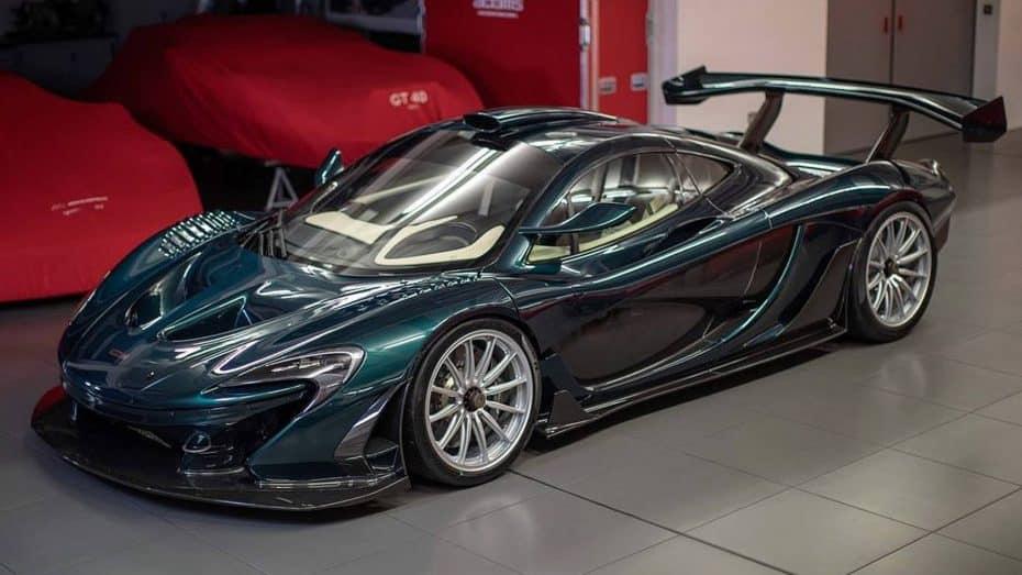 Ojo al espectacular McLaren P1 GT de Lanzante ¡Vivan los petrodólares!