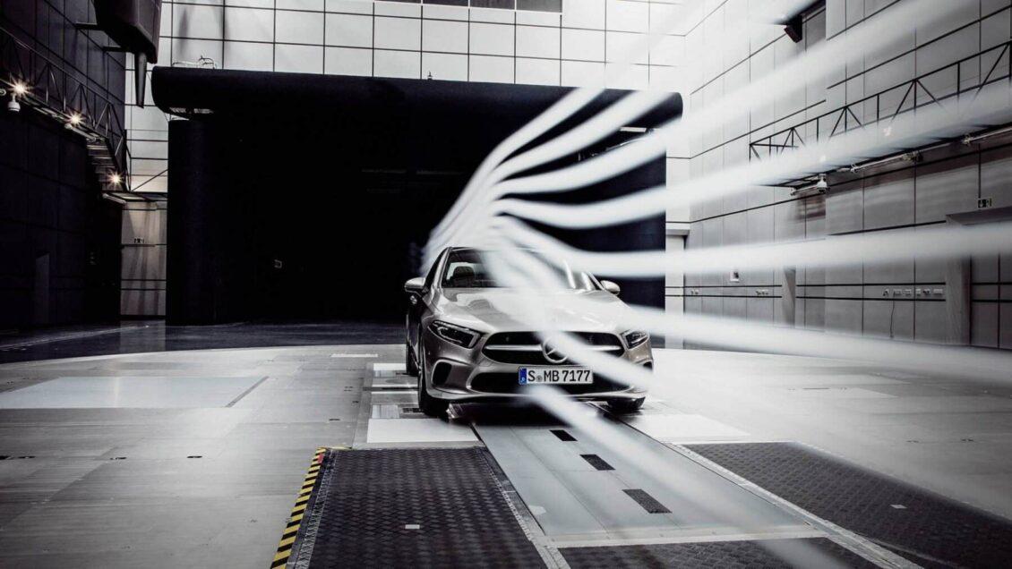 Primeras imágenes del Mercedes-Benz Clase A Sedán: El líder en términos aerodinámicos