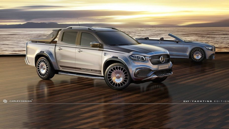 Mercedes-Benz Clase X Yatching Edition: Lujo Maybach para el pick up de la estrella