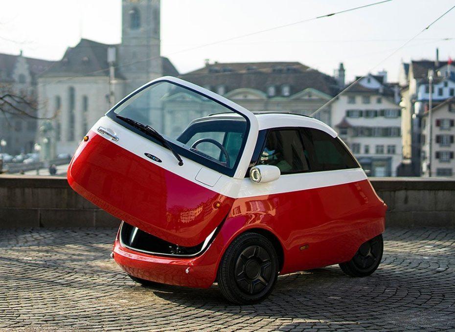 El Microlino ya es una realidad: El Isetta del Siglo XXI llegará a finales de 2018