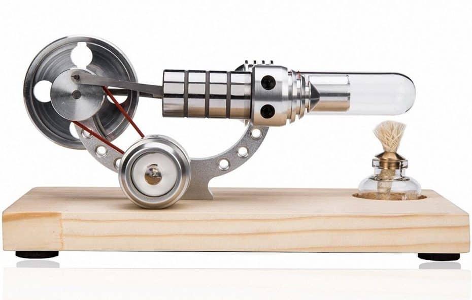 motor de vapor de agua casero