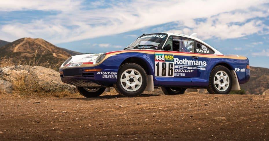 Coleccionistas de Porsche: Este 959 de 1985 que participó en el Dakar merece un hueco en vuestro garaje