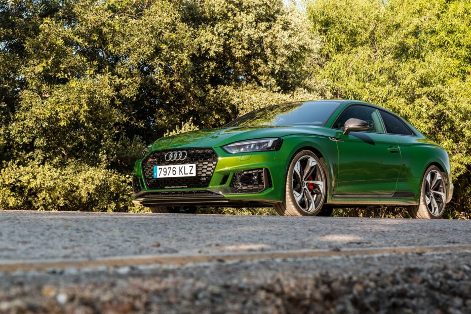 Prueba Audi RS 5 Coupé 450 CV 2018: Atrapa miradas a su paso