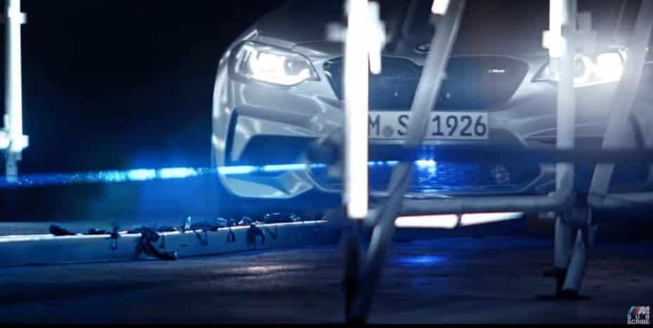 Ver para creer: Un BMW M2 Competition equipado con un láser, 79 globos y un nuevo Récord Guinness