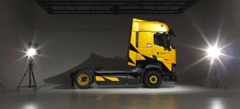 Así es la edición limitada T High Renault Sport Edition: Esencia deportiva en formato industrial de largo recorrido