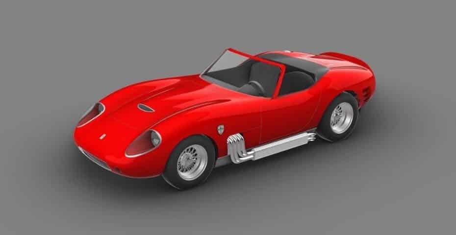 Así es el SGC 006 de Glickenhaus: Un deportivo inspirado en elFerrari 275 GTB con 650 CV
