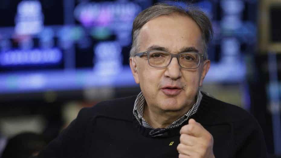 FCA tiene nuevo CEO: Sergio Marchionne deja su puesto por graves problemas de salud