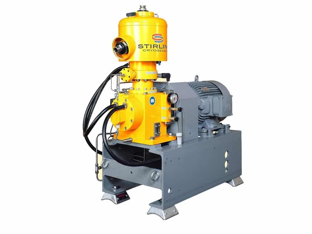 refrigeración motor stirling