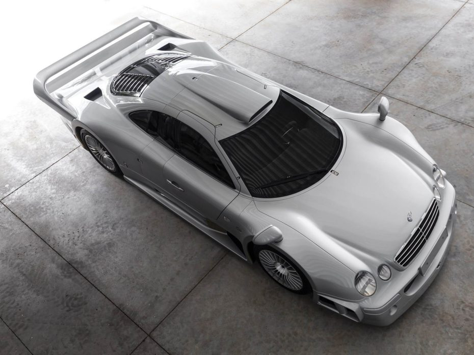 A subasta este espectacular Mercedes-Benz CLK GTR, un coche de leyenda a precio de oro