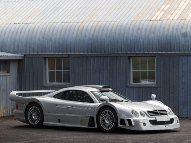A Subasta Un Espectacular Mercedes Benz Clk Gtr