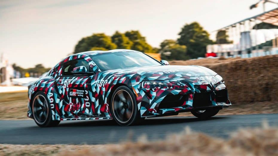 El Toyota Supra 2019 se luce en Goodwood Festival of Speed 2018
