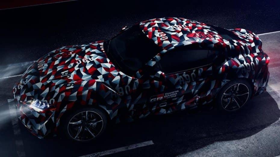 ¡Cada vez más cerca! El Toyota Supra definitivo se presentará en el Festival de Velocidad de Goodwood