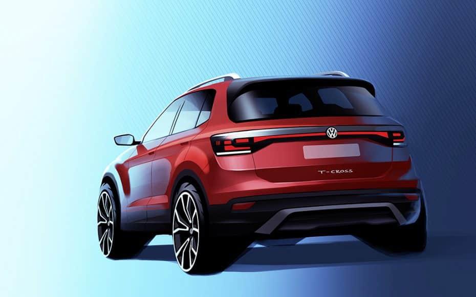 Conoceremos el pequeño Volkswagen T-Cross este otoño: Primeros detalles oficiales