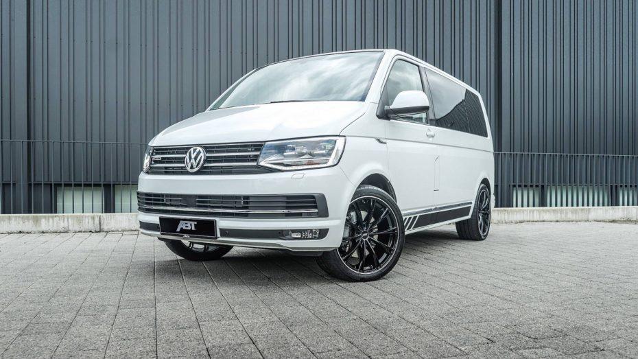 Hasta 240 CV para la Volkswagen T6 gracias a ABT ¿Quién dijo que las 'furgos' no valen para el tuning?
