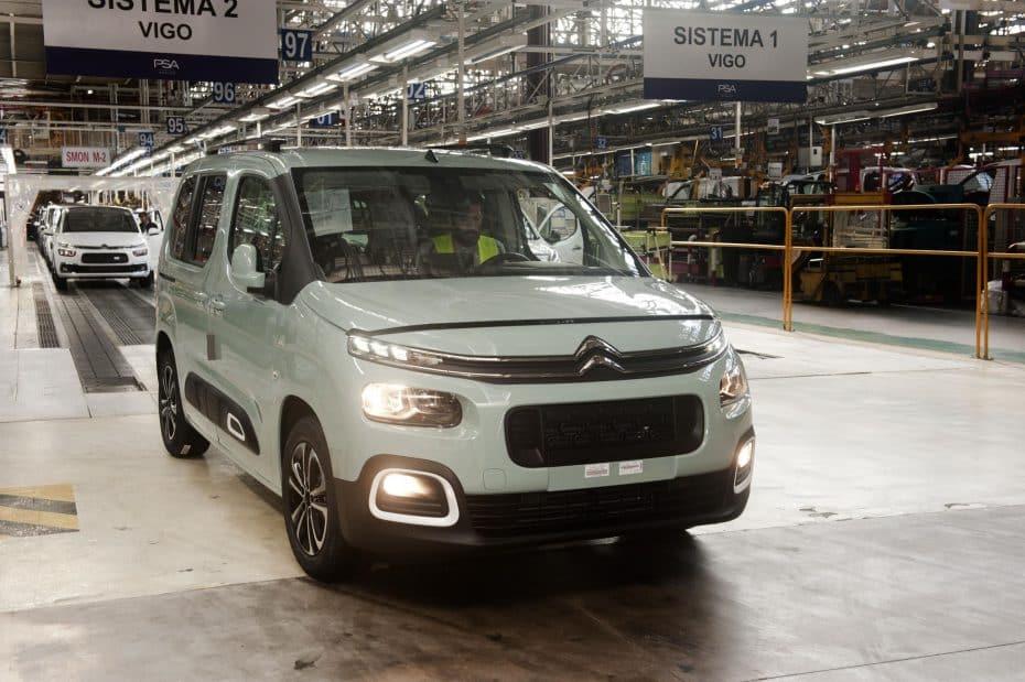 Arranca la producción de los furgones PSA en Vigo