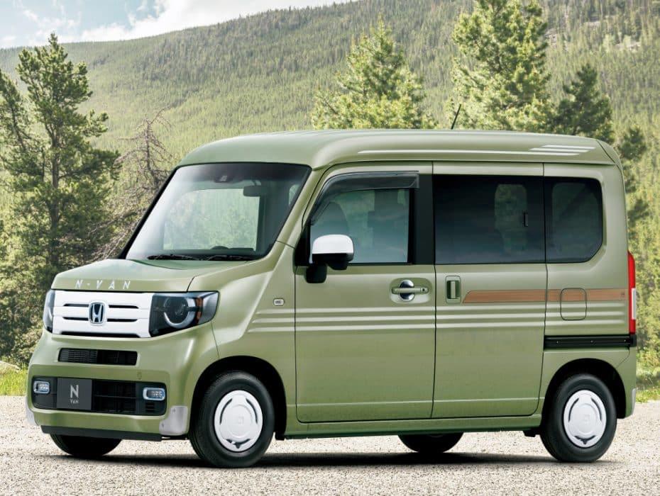 Nuevo Honda N-Van: El kei-car más práctico