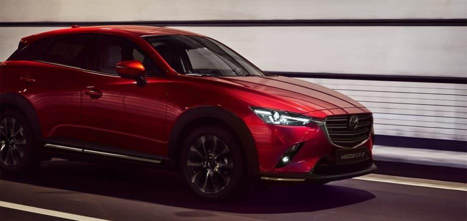Todos los precios del renovado Mazda CX-3 para España