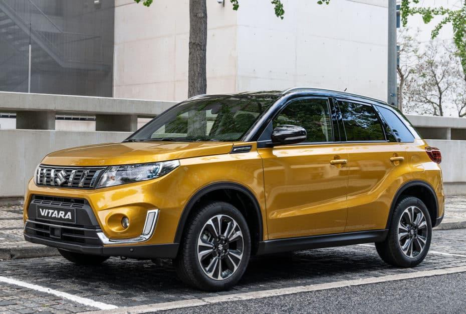 Primeras imágenes del renovado Suzuki Vitara