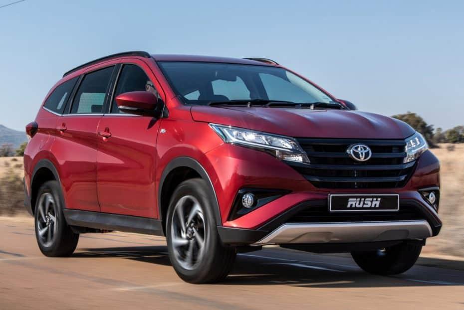 Arranca la internacionalización del Toyota Rush: No para Europa