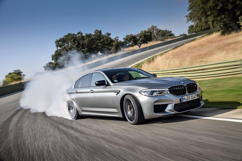 El BMW M5 Competition luce palmito en Ascari gracias a esta extensa galería de imágenes