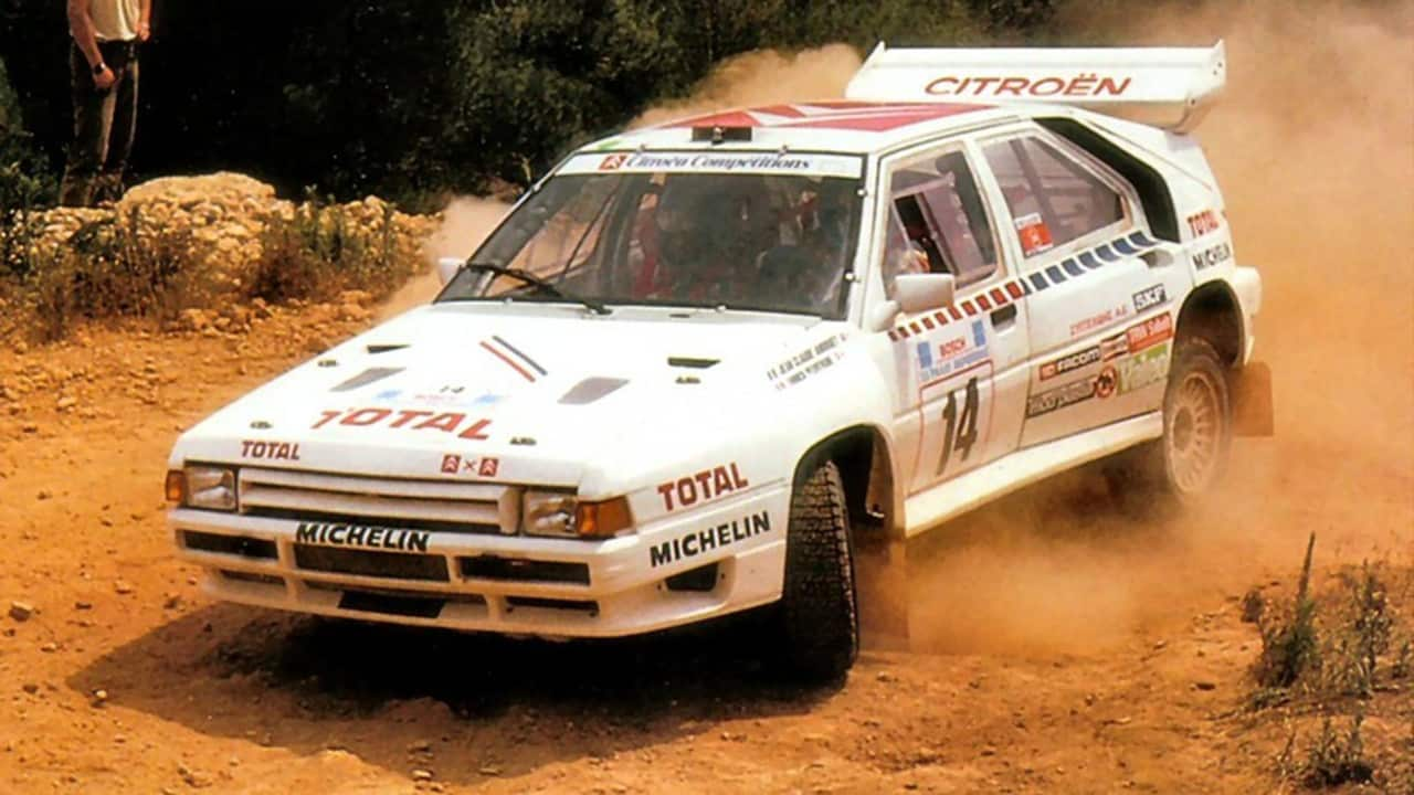 Citroën BX 4TC: