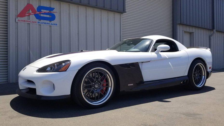 El ASC Diamondback Viper es una rareza creada por McLaren y que ahora está a la venta