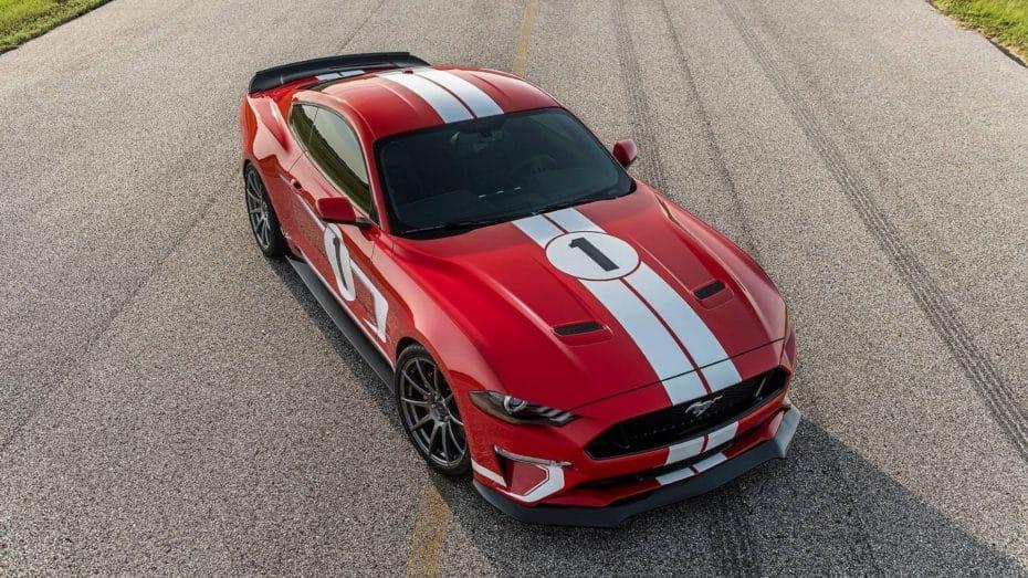 Hennessey está de celebración con el nuevo Mustang Heritage Edition, 808 CV de puro músculo