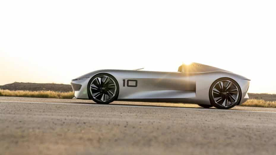 Infiniti Prototype 10: Un speedster del Siglo XXI que vaticina un futuro eléctrico
