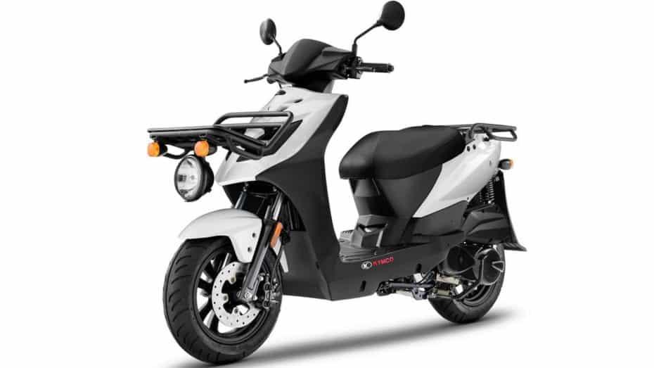 La Kymco Agility Carry 125 es el scooter ideal de reparto en la gran ciudad