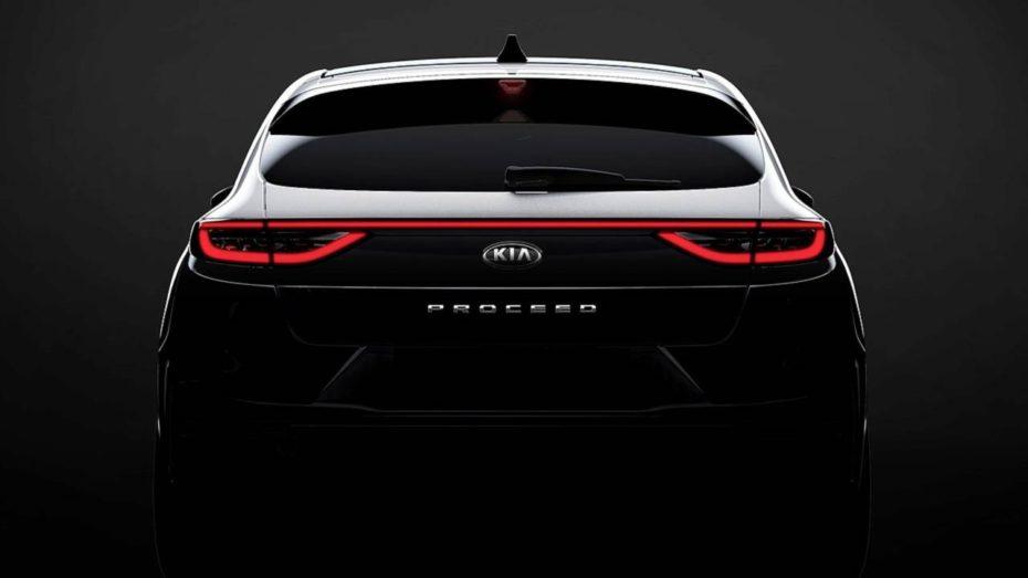 Primer teaser del Kia ProCeed 2019: Conoceremos este shooting brake el 13 de septiembre