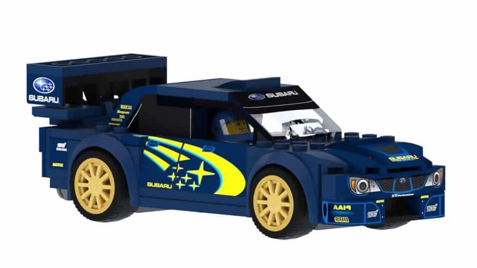 Ahora este Subaru WRX STI WRC de LEGO puede convertirse en realidad ¡Ojo a sus detalles!