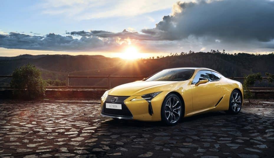 Lexus LC 500h Yellow Edition: El coupé insignia nipón acaparará todas las miradas en París
