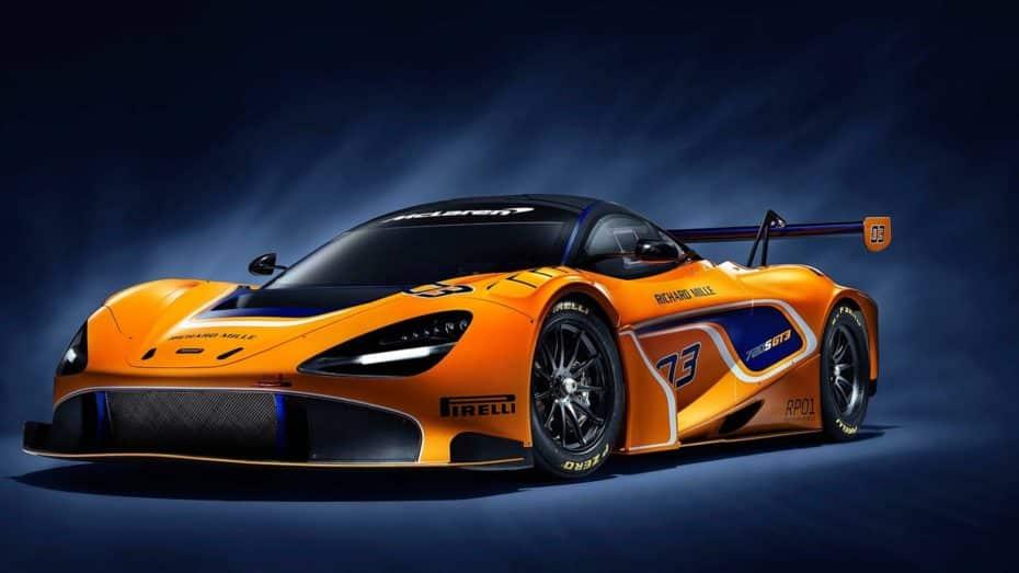 El McLaren 720S GT3 ya está aquí: Una bestia de los circuitos por más de 480.000 euros