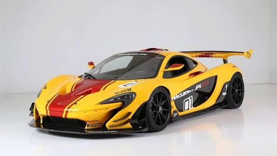 El primer McLaren P1 GTR fabricado está a la venta y homologado para carretera ¿Cuánto pagarías por él?