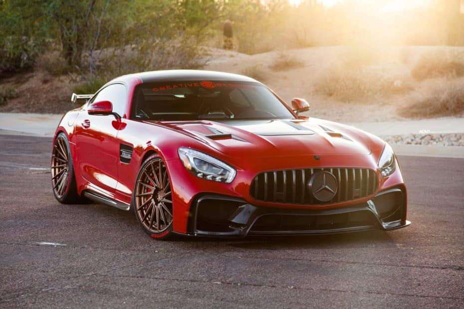 El salvaje Mercedes-AMG GT S de Creative Bespoke es un duro rival para el AMG GT R