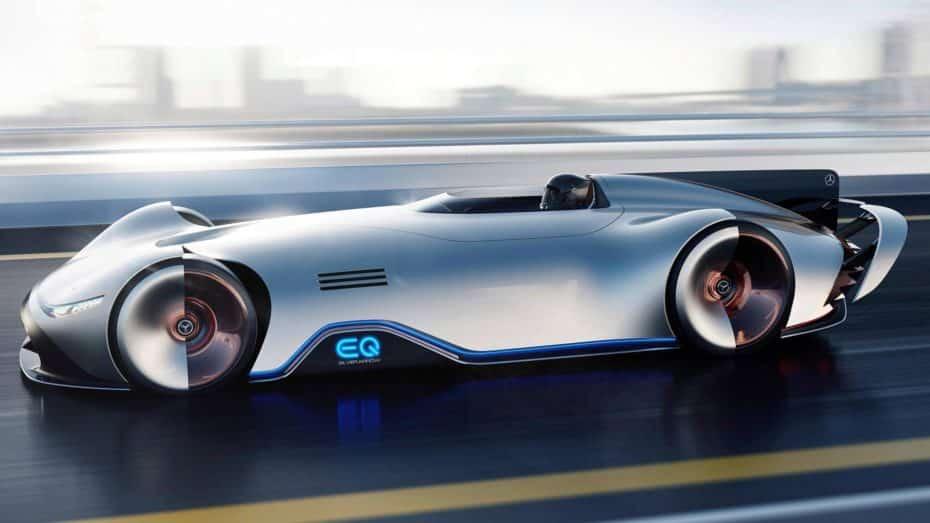 Mercedes-BenzEQ Silver Arrow: Un homenaje a las Fechas de Plata en formato eléctrico y futurista