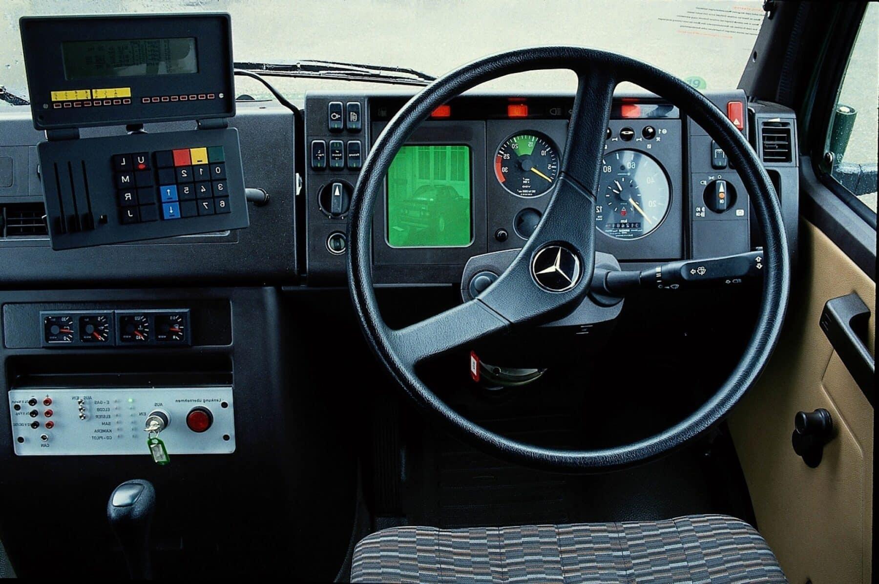 Ernst Dickmanns inventó el coche autónomo